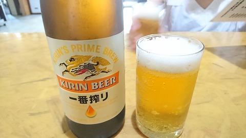 誠月:②瓶ビール600円190803