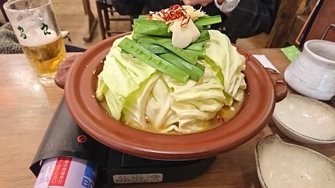 鳥良商店:①味噌鍋998円190113