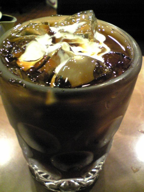 純喫茶シャレード:②アイスコーヒー420円100914