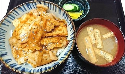 昇龍:①豚焼肉丼680円190703