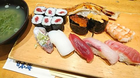 日本海:①特上寿司1950円181103