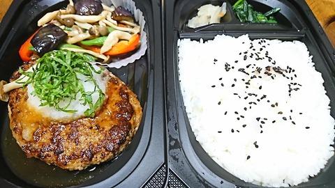 ガスト:⑤焼キ野菜ハンバ990飯大50円190611