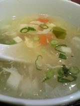 中華料理天福飯店:�玉子スープ拡大100214