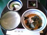 竹葉亭京橋店:�鯛茶漬横全景06-03-22