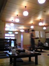 どぜう飯田屋:店�店内右奥から出入口を臨む081220.jpg