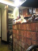 魚菜:店�カウンター席横の隣部屋への通路081116.jpg