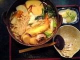 琴ひら:鍋焼うどん1160円全景06-01-16