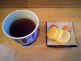 ミルクワンタン鳥藤:お茶と漬物05-12-09