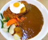ひよ子:ミックスカレー辛口+野菜1110円全景05-11-29