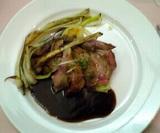 楽食ハニー:�子羊のロースステーキ全景06-01-27