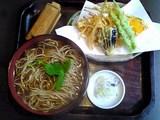 蕎草舎:�精進天麩羅蕎麦1260円全景06-08-26_14-21.jpg