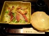 蕎草舎:�鴨の燻製と大根サラダ全景06-08-13_19-52.jpg