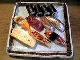 常寿司:�江戸前つくし1800円巨大全景080729.jpg