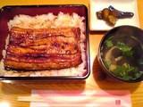 味処川亀:ランチ鰻重840円全景06-01-20