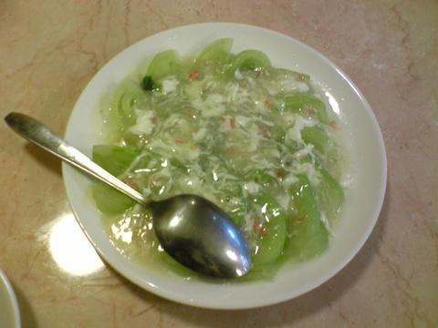 広華:�チンゲンサイのカニ肉あんかけ1030全100213