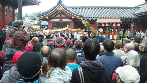 金龍の舞�浅草寺120318