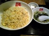 虎髭:�ジャンボチャーハン定食980円全景070910.jpg