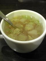 カレーハウストック:�必ず付く野菜スープ100212
