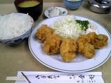 金好:牡蠣フライ定食全景05-10-19