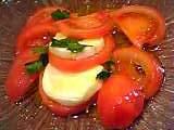 上野精養軒東京駅店:トマトとモツァレラチーズのサラダ05-03-04