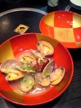 近江家:�浅蜊の酒蒸し450円全景06-06-09_12-54.jpg