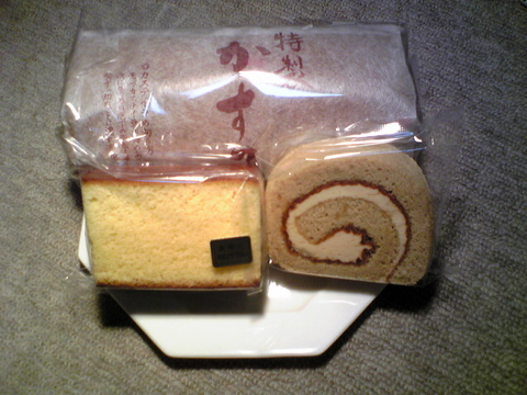 中屋洋菓子店:�ジャム925カステラ125コーヒ137全景100214