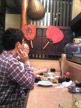 料理茶屋八重寿:店�カウンター席奥側090425.jpg
