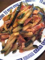中華食堂好味園:�胡瓜と叉焼和え600円090502.jpg