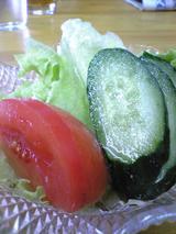 日正カレー:�サービスのサラダ拡大081018.jpg