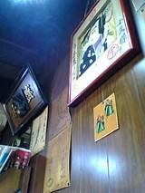 うな辰:店�小上がり席上の額と色紙06-06-05_19-33.jpg