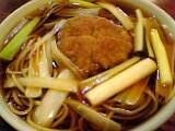 よし田:コロッケ蕎麦05-09-19