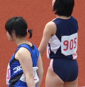 女子陸上選手のユニフォームがエロすぎwww エロちら速報03