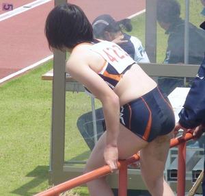 女子陸上選手のユニフォームがエロすぎwww エロちら速報13
