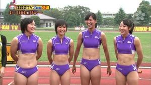 女子陸上選手のユニフォームがエロすぎwww エロちら速報24