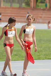 女子陸上選手のユニフォームがエロすぎwww エロちら速報15