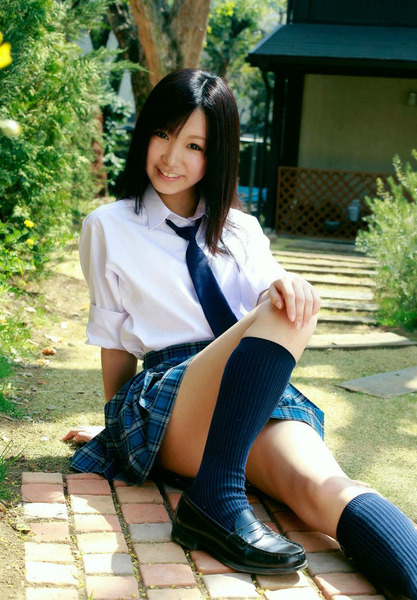 黒髪少女15