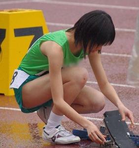 女子陸上選手のユニフォームがエロすぎwww エロちら速報16