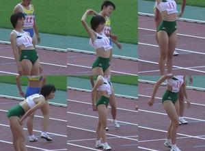 女子陸上選手のユニフォームがエロすぎwww エロちら速報02