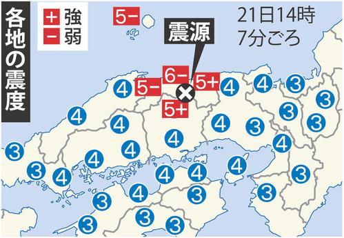 鳥取地震10