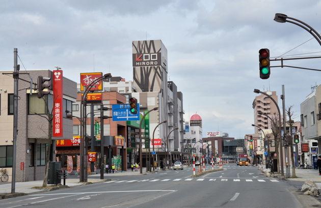 弘前市 ついに積雪量ゼロに! : 弘前福音キリスト教会通信