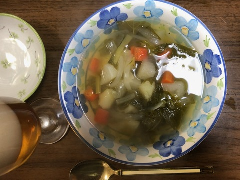 野菜スープ210205