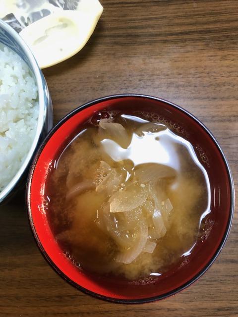 210610ジャガイモと玉ねぎの味噌汁