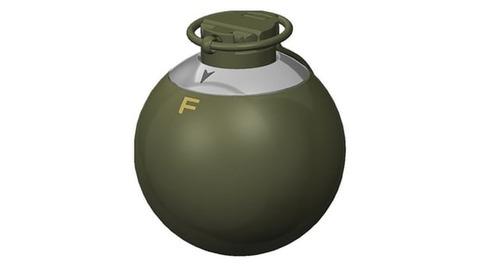 防御型手榴弾?米軍、スイッチ1つで機能使い分け手榴弾開発