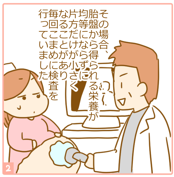 双子妊娠⑭体重差が心配2