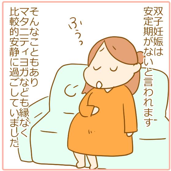 双子妊娠⑥とにかく腹がでかい!01