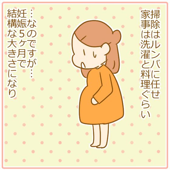 双子妊娠⑥とにかく腹がでかい!02