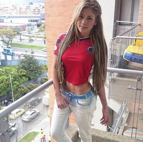 ワールドカップ美女57