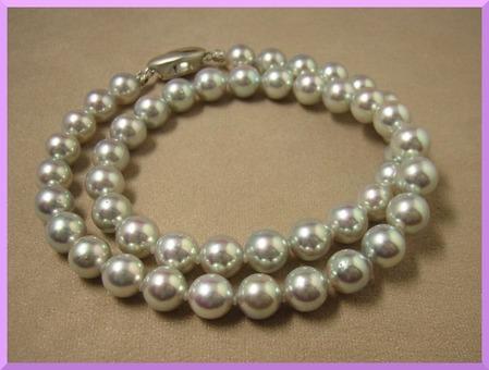 天然色グレー 真珠