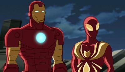 アイアンマンとスパイダーマンが夢の対決