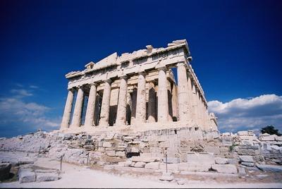 ギリシャ世界遺産ローマ神殿